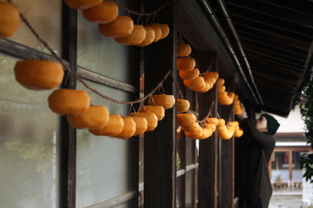 KOKAJIYAでの干し柿