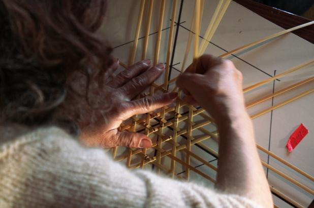 編み作業2